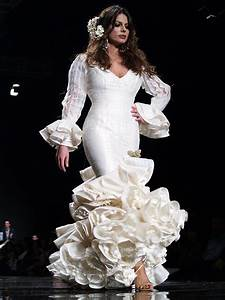 pin by maria diaz confecciones on vestidos de sevillanas With robe de mariage civil avec bijoux argent homme