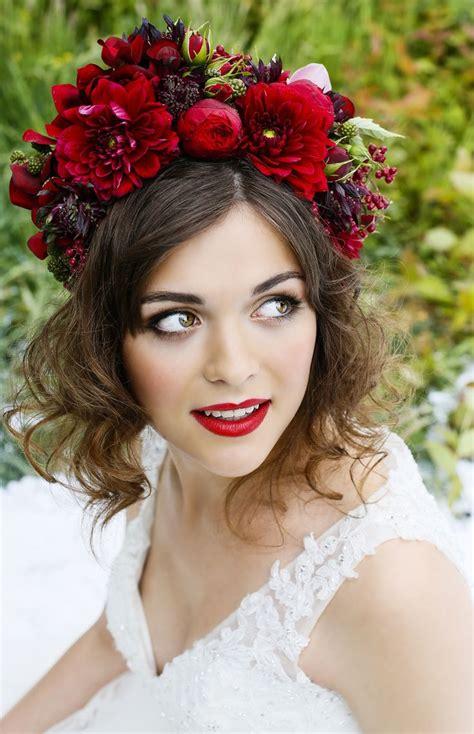 25 Best Ideas About Flower Headpiece On Pinterest
