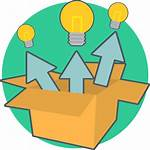 Box Icon Idea Think Creative Berpikir Energi