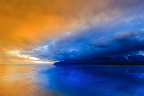 reflection, Sunset, Nature, Water, Clouds Wallpapers HD ...