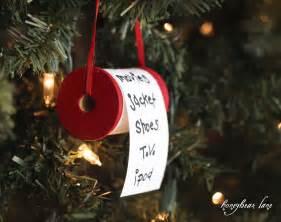 make a christmas list ornament honeybear lane