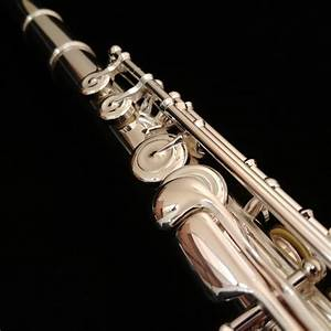 New Custom Pearl 765 Solid Silver Flute With C  Trill  D