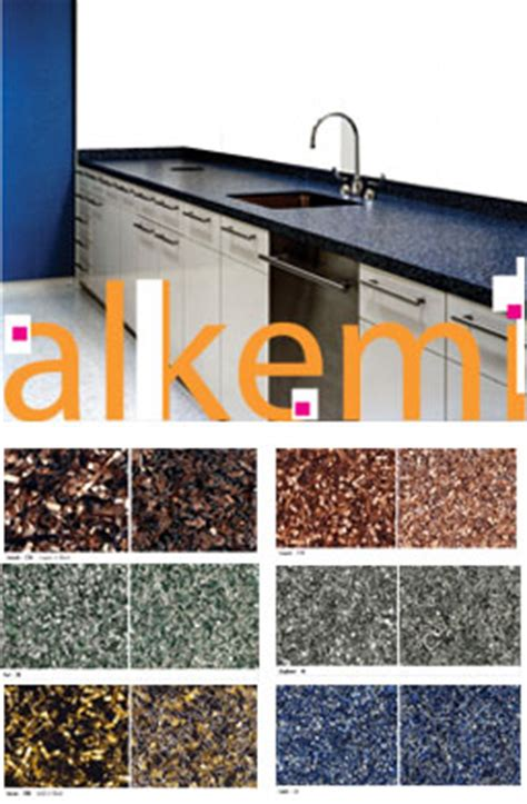 alkemi countertops an innovative idea for aluminum recycling steel