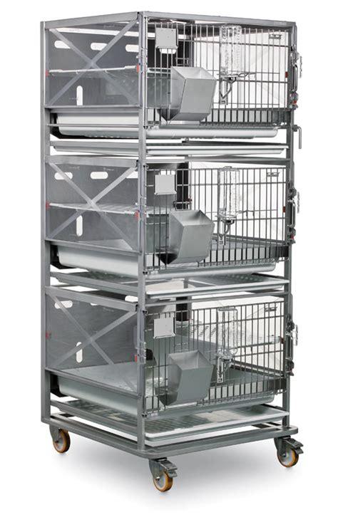 suite rack  rabbits laboratory animal equipment