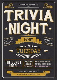 trivia night flyer templates quiz night invitation template google search pub quiz