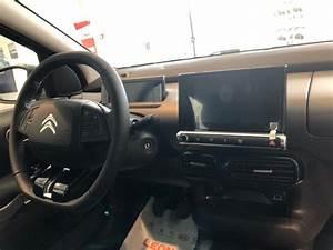 Tesla Model 3 dashboard on French Citroen C4 Cactus