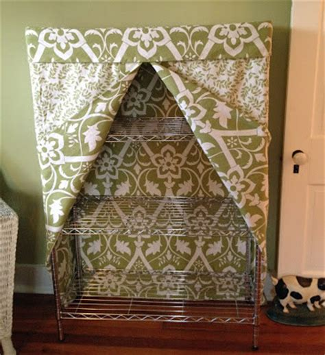 Offenes Regal Verdecken by Diy Fabric Projects To Spruce Up Your Home