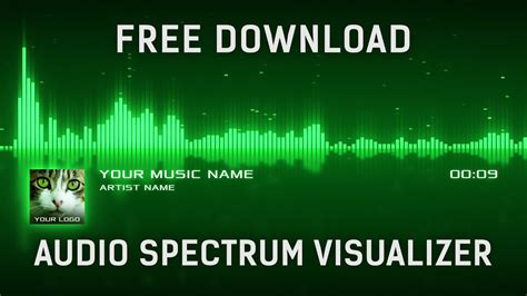 After Effects Templates Free Shared by Audio Spectrum Visualization After Effects Template Free