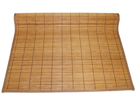 Japanese Floor Mat - 3 x8 36 quot x96 quot brown bamboo floor mat area rug tatami
