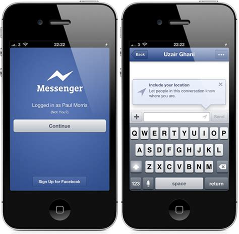messenger app android messenger for iphone and android updated
