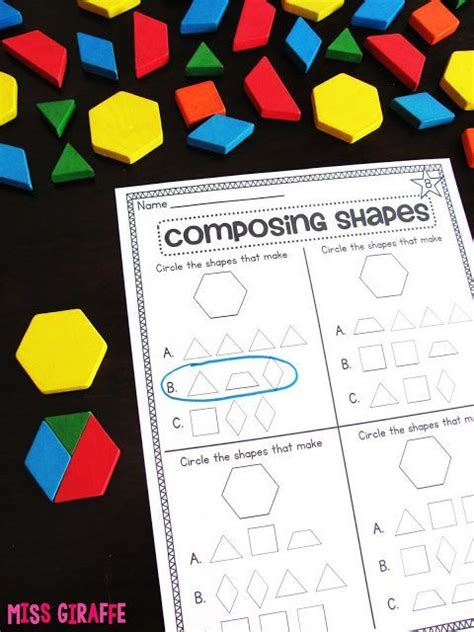 composing shapes  st grade  images st grade math