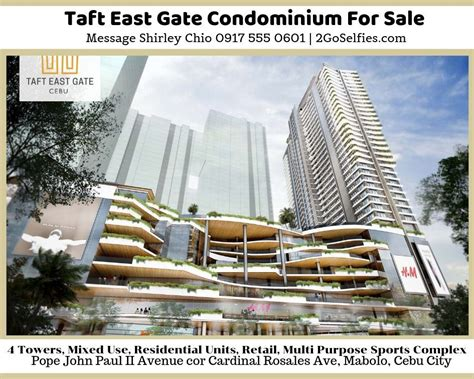 taft east gate condominium  sale cebu taft condominium cebu