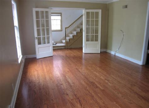 Restaining Hardwood Floors Diy by Diy Ideas Tips For Refinishing Wood Floors Huffpost