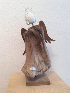 Tonne Aus Holz : engel aus schwemmholz eisen ton pinterest engel engel aus holz und holz ~ Watch28wear.com Haus und Dekorationen