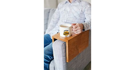wooden sofa sleeve  cup holder diy gifts  guys