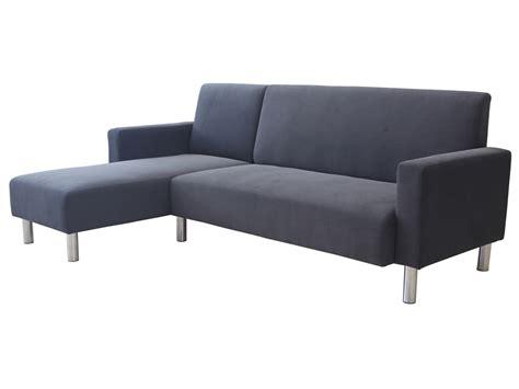 canapé angle réversible canapé d 39 angle tissu réversible quot quot 4 places gris
