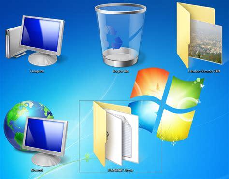 Changing Desktop Icons Size