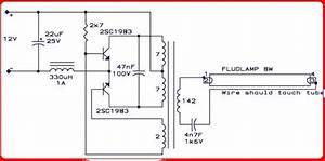 Wiring Diagram Lampu Neon