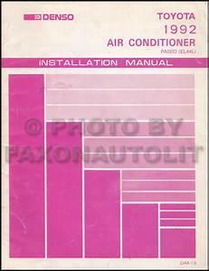 1992 Toyota Paseo Wiring Diagram Manual Original