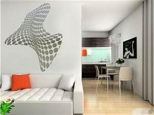 Decoration Murale Miroir : sticker mural 3d stickers design ~ Teatrodelosmanantiales.com Idées de Décoration