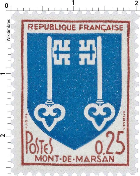 bureau de poste mont de marsan timbre mont de marsan wikitimbres