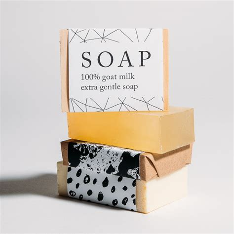 custom soap packaging belly band normans printery
