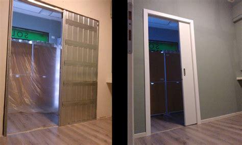 porta scorrevole in cartongesso montare una porta scorrevole nel cartongesso cartongesso