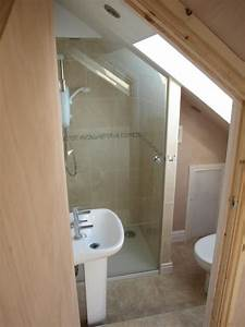 The 25 best small attic bathroom ideas on pinterest for Cost of adding an ensuite bathroom