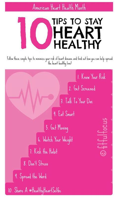 10 Tips To Stay Heart Healthy Paperblog