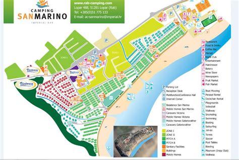 Mobile homes Camp San Marino (Victoria), Island Rab
