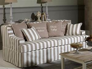 Sofa Hussen : coastal homes hussen sofa gestreift landhaus virginia ~ Pilothousefishingboats.com Haus und Dekorationen