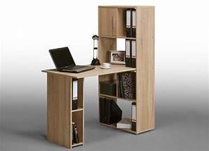Bureau Avec Rangement : bureau avec rangement vente de bureau meuble lepolyglotte ~ Teatrodelosmanantiales.com Idées de Décoration