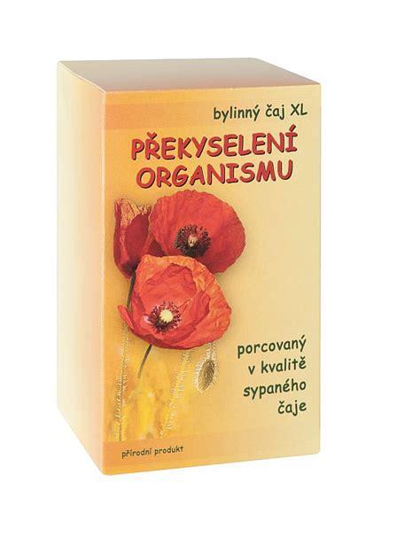 Čaj Překyselení organismu