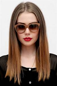 Long All One Length Hairstyles Fade Haircut