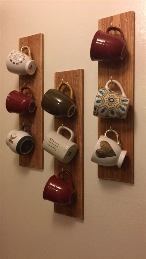 Discover the magic of the internet at imgur, a community powered entertainment destination. Diy Cup Holder Ideas Are Functional And Inspiring   Coffee mug storage, Mug storage, Coffee mug ...
