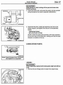 Mitsubishi Outlander 2014 - 2015 Service Repair Fsm Manual   Wiring Diagrams