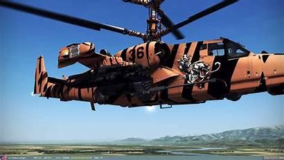 Shark Russian Helicopter Ka Attack Gunship Military