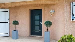 prix d39une porte d39entree aluminium cout moyen tarif With prix porte d entrée aluminium vitrée