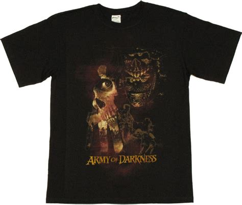 army of darkness evil t shirt