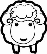 Sheep Coloring Pages Face Lamb Head Drawing Printable Sheet Sheets Clipart Shaun Wecoloringpage Getdrawings Drawings Getcolorings Clipartmag Paintingvalley Minute Last sketch template