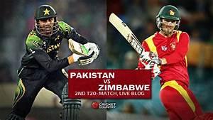 Live Cricket Score Pakistan vs Zimbabwe, 2nd T20 ...