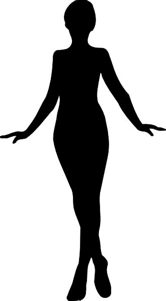 Woman Silhouette Clip Art at Clker.com - vector clip art ...