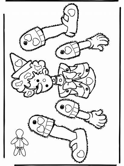 Puppet Paper Coloring Pages Puppets Pull Halloween
