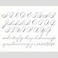 Elegant Script Spencerian And Copperplate Roundhand  Spencerian Handwriting Calligraphy
