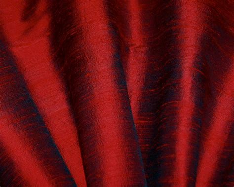 Red Dupioni Silk Drapes Curtains & Shades-custom Made In