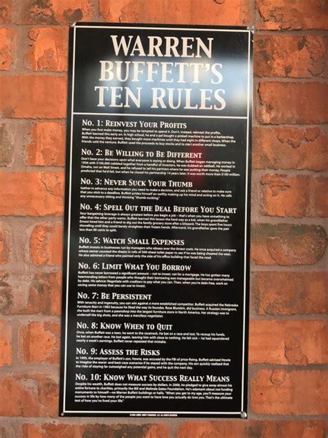 jimmy johns warren buffetts  rules