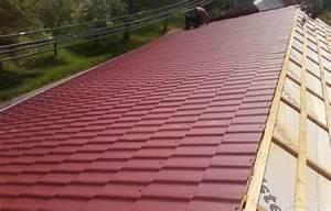 Plechová střecha montáž