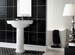 Bathrooms With Black And White Tile by White Ceramic Tile Bathroom Images