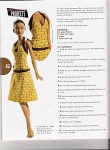 par amour des poupees barbie robe a bretelles http With patron robe poupee barbie
