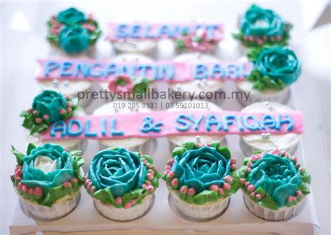 cupcake hantaran  cantik  murah prettysmallbakery